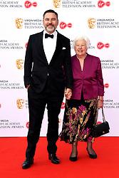 David Walliams and Kathleen Williams attending the Virgin Media BAFTA TV awards, held at the Royal Festival Hall in London. Photo credit should read: Doug Peters/EMPICS