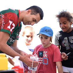 BRISBANE, AUSTRALIA - MARCH 18:  during the NRL Development Junior Clinic and QRL training session at Ron Stark Oval on March 18, 2017 in Brisbane, Australia. (Photo by Patrick Kearney/Wynnum Manly Seagulls)