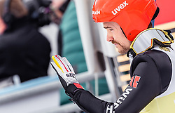 28.02.2019, Seefeld, AUT, FIS Weltmeisterschaften Ski Nordisch, Seefeld 2019, Nordische Kombination, Team Sprung, im Bild Fabian Riessle (GER) // Fabian Riessle of Germany during Team Jumping competition for Nordic Combined of FIS Nordic Ski World Championships 2019. Seefeld, Austria on 2019/02/28. EXPA Pictures © 2019, PhotoCredit: EXPA/ JFK