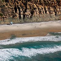 Cliffs of Torrey Pines, La Jolla, California.