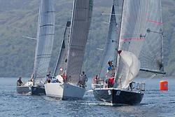 Silvers Marine Scottish Series 2017<br /> Tarbert Loch Fyne - Sailing<br /> <br /> class 3 with IRL1484, Harmony, John Swan, Howth Yacht Club, Half Tonner