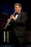 MERRICK - NOV 13, 2010: Stanley Drucker, world famous Clarinetist formerly of New York Philharmonic for 60 years, performing during MBCCA concert