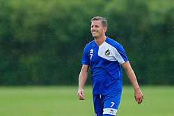 Lee Mansell looks on as Bristol Rovers return to training ahead of their 2015/16 Sky Bet League Two campaign - Photo mandatory by-line: Rogan Thomson/JMP - 07966 386802 - 02/07/2015 - SPORT - Football - Bristol, England - The Lawns Training Ground, Henbury - Sky Bet League Two.