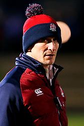 England U20 head coach Alan Dickens - Mandatory by-line: Robbie Stephenson/JMP - 07/02/2020 - RUGBY - Myreside - Edinburgh, Scotland - Scotland U20 v England U20 - Six Nations U20