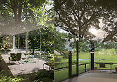 Side by Side:  Farnsworth House + Philip Johnson's Glass House