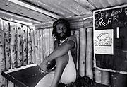 Burning Spear at home  - St Ann's Bay Jamaica 1978