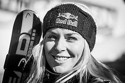 04.10.2014, Rettenbach Ferner, Soelden, AUT, US Ski Team, Gletschertraining, im Bild Lindsey Vonn (USA) // Lindsey Vonn of the United States during a practice session of US Ski Team at the Rettenbachferner, Austria on 2014/10/04. EXPA Pictures © 2014, PhotoCredit: EXPA/ JFK