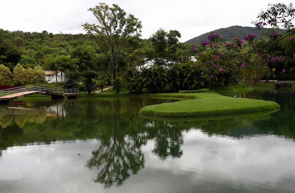 Brumadinho_MG, Brasil...Jardim no Centro de Arte Contemporanea Inhotim (CACI)...The garden in the Inhotim Contemporary art Center (CACI)...FOTO: BRUNO MAGALHAES / NITRO..