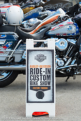 Wednesday's Ride-In Bike Show at the Harley-Davidson display during Daytona Bike Week. FL, USA. March 12, 2014.  Photography ©2014 Michael Lichter.