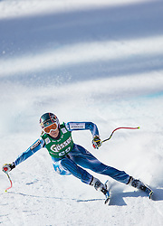 12.01.2013, Karl Schranz Abfahrt, St. Anton, AUT, FIS Weltcup Ski Alpin, Abfahrt, Damen im Bild Carolina Ruiz Castillo (SPA) // Carolina Ruiz Castillo of Spain in action during ladies Downhill of the FIS Ski Alpine World Cup at the Karl Schranz course, St. Anton, Austria on 2013/01/12. EXPA Pictures © 2013, PhotoCredit: EXPA/ Johann Groder