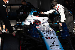 February 26, 2019 - Montmelo, BARCELONA, Spain - BARCELONA, SPAIN, 26th of February 2019. #63 George RUSSELL driver of Williams team during the winter test at Circuit de Barcelona Catalunya. (Credit Image: © AFP7 via ZUMA Wire)