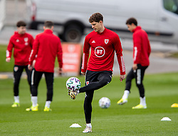 CARDIFF, WALES - Monday, March 29, 2021: Wales' James Lawrence during a training session at the Vale Resort ahead of the FIFA World Cup Qatar 2022 Qualifying Group E game against the Czech Republic. (Pic by David Rawcliffe/Propaganda)