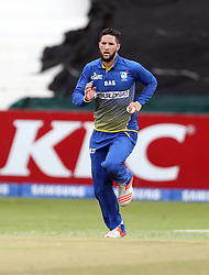 Wayne Parnell of BuildNat Cape Cobras during the T20 Challenge cricket match between the Dolphins and the Cobras at the Kingsmead stadium in Durban, KwaZulu Natal, South Africa on the 4th December 2016<br /> <br /> Photo by:   Steve Haag / Real Time Images