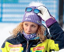 29.12.2017, Stelvio, Bormio, ITA, FIS Weltcup, Ski Alpin, alpine Kombination, Slalom, Herren, im Bild Ilka Stuhec (SLO) // Ilka Stuhec  of Slovenia during the Slalom competition for the men's Alpine combination of FIS Ski Alpine World Cup at the Stelvio course, Bormio, Italy on 2017/12/29. EXPA Pictures © 2017, PhotoCredit: EXPA/ Johann Groder