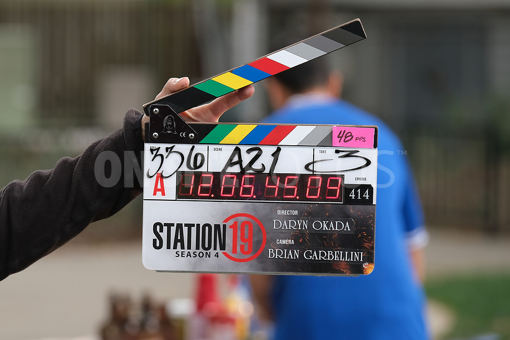 """STATION 19 - """"Get Up, Stand Up"""" – In the wake of national outcry after the tragic murder of an unarmed Black man, Maya brings in Dr. Diane Lewis to grief counsel the team on a new episode of """"Station 19,"""" THURSDAY, APRIL 22 (8:00-9:00 p.m. EDT), on ABC. (ABC/Ron Batzdorff)<br /> STATION 19"""