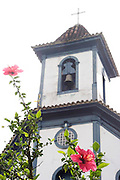 Santa Barbara_MG, Brasil...Torre da igreja de Nossa Senhora do Rosario em Santa Barbara...The bell tower of Nossa Senhora do Rosario church in Santa Barbara...Foto: LEO DRUMOND / NITRO