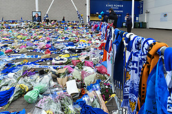 So many scarves and flowers (c) Simon Kimber   SportPix.org.uk