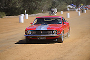 1970 Ford Mustang Mach 1, Caversham Historic Motoring Fair. Caversham, Perth, Western Australia.<br /> Sunday, 15th November 2009