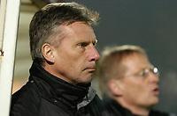 Photo: Leigh Quinnell.<br /> Cheltenham Town v Colchester United. LDV Vans Trophy.<br /> 24/01/2006. Cheltenham Town manager John Ward.