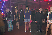 LILAH PARSONS;  Club DKNY in celebration of DKNYARTWORKS hosted by Cara Delevingne  at The Fire Station, Lambeth High St. London. 12 June 2013