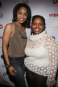 l to r: Rhonda Haynes and Olivia Scott-Perkins at The Jamie Foxx's Album Release Party for Intuition, Sponsored by Vibe Magazine & Patron Tequila held at Home on December 17, 2008 in New York City..