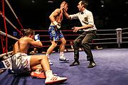 Boxen: Boxen im Norden, Hamburg, 17.02.2019<br /> Deutsche Meisterschaft: Sebastiano Lo Zito - Alexander Rigas<br /> © Torsten Helmke
