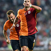 Galatasaray's Wesley Sneijder during their Turkish Super League soccer match Torku Konyaspor between Galatasaray at the Konya Buyuksehir Belediyesi Torku Arena at Selcuklu in Konya Turkey on Saturday, 29 August 2015. Photo by TVPN/TURKPIX