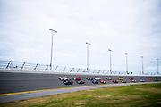 January 24-28, 2018. IMSA Weathertech Series ROLEX Daytona 24. Start of the 56th Daytona 23 led by 10 Konica Minolta Cadillac DPi-V.R, Cadillac DPi, Jordan Taylor, Renger Van Der Zande, Ryan Hunter-Reay