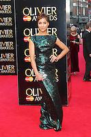 Cush Jumbo, The Laurence Olivier Awards, Royal Opera House, London UK, 13 April 2014, Photo by Richard Goldschmidt