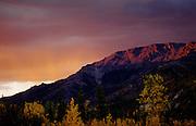 Last Light in the mountains - Denali N.P., Alaska
