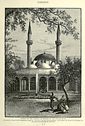 Mosque of the Tekiyeh, or Hospice of the Sultan Selim Damascus, Syria Engraving on Wood from Picturesque Palestine, Sinai and Egypt by Wilson, Charles William, Sir, 1836-1905; Lane-Poole, Stanley, 1854-1931 Volume 2. Published in New York by D. Appleton in 1881-1884