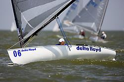 08_003337 © Sander van der Borch. Medemblik - The Netherlands,  May 24th 2008 . Day 4 of the Delta Lloyd Regatta 2008.