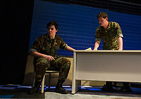"Gilford High School Performing Arts presents ""A Few Good Men.  Karen Bobotas for the Laconia Daily Sun"