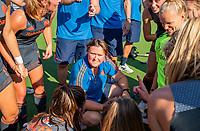 ANTWERPEN -  coach Alyson Annan (Ned) na de wedstrijd  De finale  dames  Nederland-Duitsland  (2-0) bij het Europees kampioenschap hockey.  ) COPYRIGHT  KOEN SU