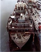 """ackroyd_C04266-1.  """"NW Marine Iron Works. Sister Katingo progress. February 24, 1977"""" (OPS)"""
