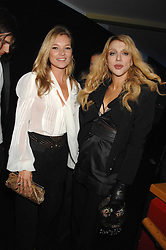 Left to right, KATE MOSS and COURTNEY LOVE at a party to celebryate the launch of the Spring Summer 2008 adidas collection by Stella McCartney held at the Westway Sports Centre, off Latimer Road, London W10 on 20th September 2007.<br /><br />NON EXCLUSIVE - WORLD RIGHTS