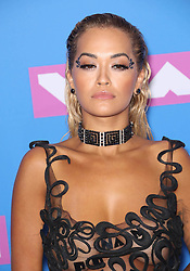 August 21, 2018 - New York City, New York, USA - Rita Ora at the 2018 MTV Video Music Awards at Radio City Music Hall in New York City. (Credit Image: © Starmax/Newscom via ZUMA Press)