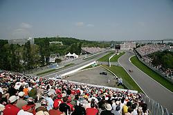 FORMEL 1: GP von Kanada, Montreal, 07.06.2008<br /> Rennstrecke, Uebersicht, Illustration<br /> © pixathlon