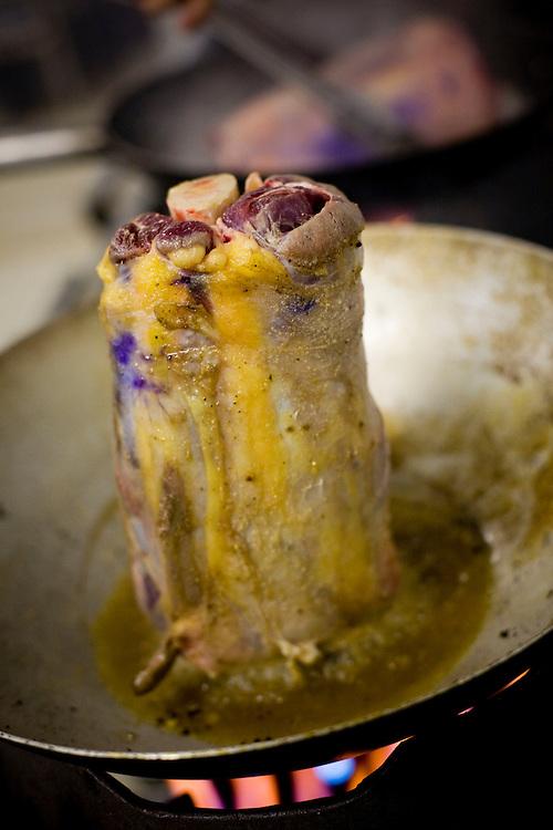 Belo Horizonte_MG, Brasil...Festival Gastronomico Sabor e Saber, na foto detalhe de carne vermelha...The Gastronomic Festival Sabor e Saber, in the photo some meets...Foto: BRUNO MAGALHAES / NITRO..