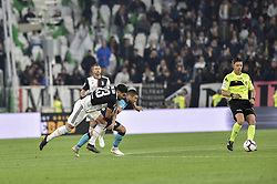 May 19, 2019 - Turin, Turin, Italy - Emre Can of Juventus FC and Papu G—mez,  of Atalanta BC during the Serie A match at Allianz Stadium, Turin (Credit Image: © Antonio Polia/Pacific Press via ZUMA Wire)