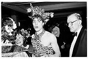 Hughie Grant. Piers Gaveston Ball, Park lane hotel 13.05.83© Copyright Photograph by Dafydd Jones 66 Stockwell Park Rd. London SW9 0DA Tel 020 7733 0108 www.dafjones.com