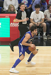October 21, 2017 - Los Angeles, California, U.S - Milos Teodosic #4 of the Los Angeles Clippers with the ball during their first regular season game against the Phoenix Suns on Saturday October 21, 2017 at the Staples Center in Los Angeles, California. Clippers defeat Suns, 130-88. (Credit Image: © Prensa Internacional via ZUMA Wire)