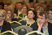 20/11/2014  repro free    <br /> Delegate Ann Finn Enterprise Ireland  at the Galway Bay Hotel for the two day conference Meet West attracting over 400 business people from around Ireland for the largest networking event in the Country . Photo:Andrew Downes