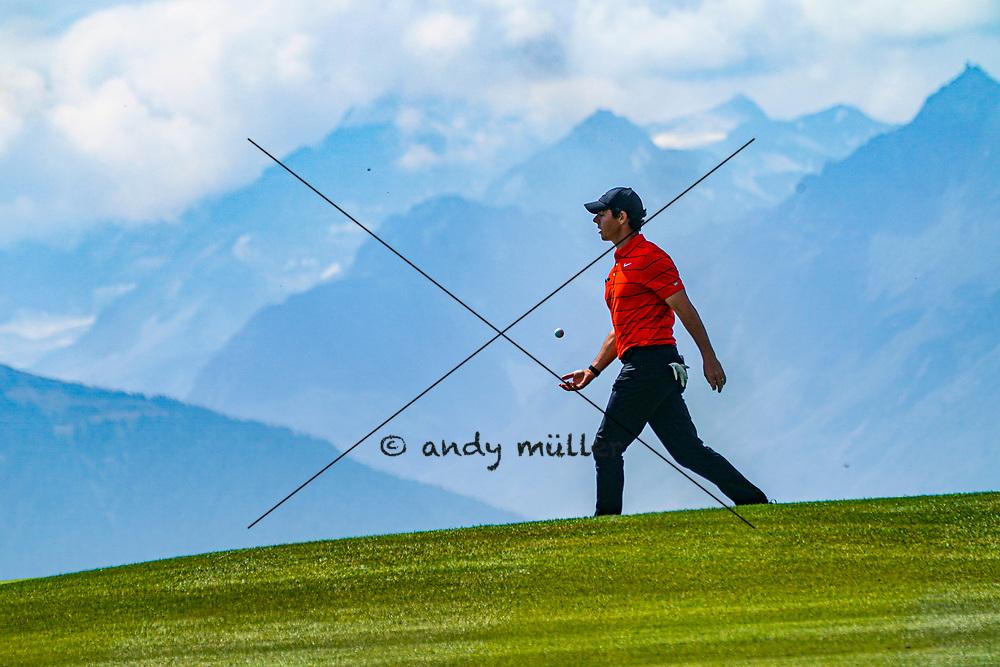 29.08.2019; Crans Montana; GOLF - European Masters - 1.Runde;<br /> Rory McIlroy (NIR) <br /> (Andy Mueller/freshfocus)