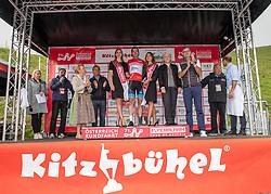 12.07.2019, Kitzbühel, AUT, Ö-Tour, Österreich Radrundfahrt, 6. Etappe, von Kitzbühel nach Kitzbüheler Horn (116,7 km), im Bild Ben Hermans (BEL, Israel Cycling Academy) im roten Flyeralarm Trikot des Gesamtsiegers der Österreich Rundfahrt // Tour of Austria winner Ben Hermans of Belgium Team Israel Cycling Academy in the red Flyeralarm overall leader jersey during 6th stage from Kitzbühel to Kitzbüheler Horn (116,7 km) of the 2019 Tour of Austria. Kitzbühel, Austria on 2019/07/12. EXPA Pictures © 2019, PhotoCredit: EXPA/ Reinhard Eisenbauer