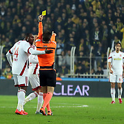 Fenerbahce's and Medicana Sivasspor's during their Turkish super league soccer match Fenerbahce between Medicana Sivasspor at the Sukru Saracaoglu stadium in Istanbul Turkey on Monday 28 December 2015. Photo by Kurtulus YILMAZ/TURKPIX