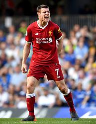 Liverpool's James Milner during the Premier League match at Stamford Bridge, London.
