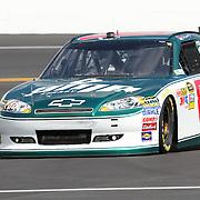 Sprint Cup Series driver Dale Earnhardt Jr. (88) at Daytona International Speedway on February 18, 2011 in Daytona Beach, Florida. (AP Photo/Alex Menendez)