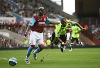 Photo: Rich Eaton.<br /> <br /> Aston Villa v Chelsea. The FA Barclays Premiership. 02/09/2007. Aston Villa's Nigel Reo-Coker (l) sends Florent Malouda flying with a challenge.