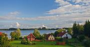Widok na jezioro Świecajty, Mazury, Kal <br /> <br /> View of the lake Święcajty, Masuria, Kal